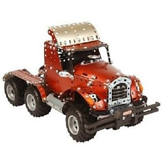 Meccano Remote Control Truck With Pack  Charger (Orange)