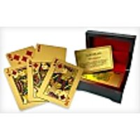 24K Carat Gold Plated Playing Card