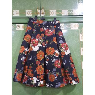 Beautiful Designer Short Skirt Sapphire