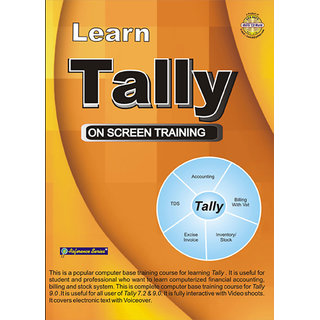 Learn Tally 7.2 and 9 (English)