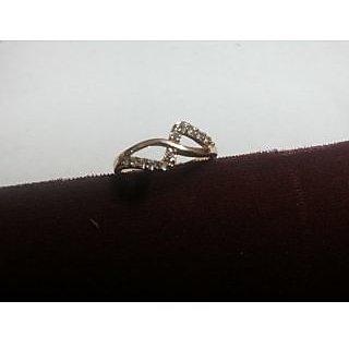 Parman Gold Plated Diamond Ring