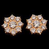 Diamond Earring In Yellow Gold - SAN05