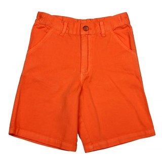 Apricot Kids Orange Shorts For Boys