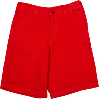 Apricot Kids Red Shorts For Boys