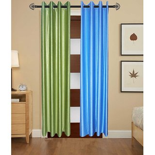ShopSince Stylish Door Curtain Set of 2