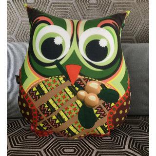 Lushomes Decorative Owl Cushion(FSC1001)