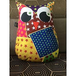 Lushomes Decorative Owl Cushion(FC1002)