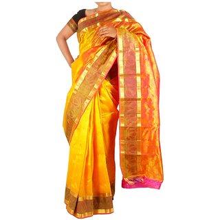 Tavara Womens Silk Floral Sarees