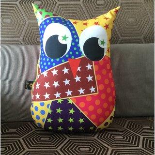 Lushomes Decorative Owl Cushion(FC1003)