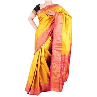 Tavara Womens Silk Plain / Solid Sarees