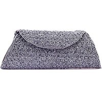 Kleio Canvas Grey Women Clutch