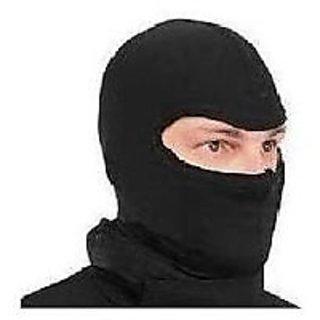 Black Washable Full Face Mask For Winter