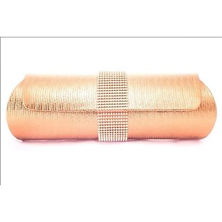 Kleio Pu Brass Women Clutch