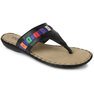Liberty Women's Black Flip Flops