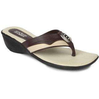 Liberty Women's Brown Flip Flops