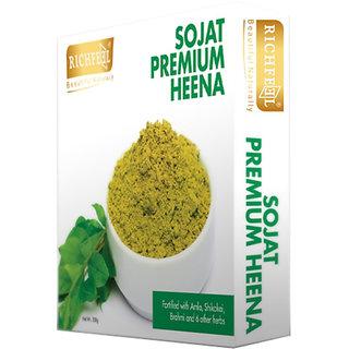 Richfeel Sojat Premium Heena (Pack Of 2)
