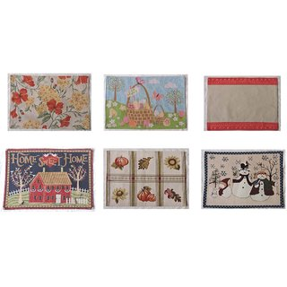 JARS Collections Set of 6 multipurpose Mats