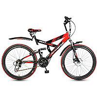 Hero Next 26T 18 Speed Sprint Bike with disc Brake - Red  Black