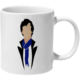 Mooch Wale Sherlock Ceramic Mug