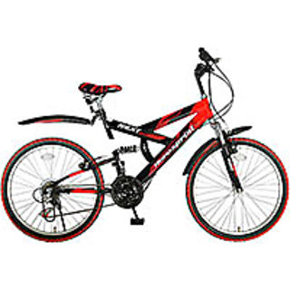 Hero Next 26T 18 Speed Sprint Bike   Red Black Cycles