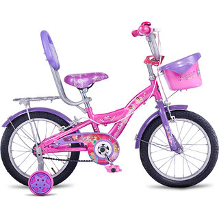 Hero Disney 16T Princess Junior Cycle With Carrier   Capri Pink Cycles