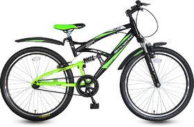 Hero RX-1 26T Single Speed Sprint Bike - Black  Green