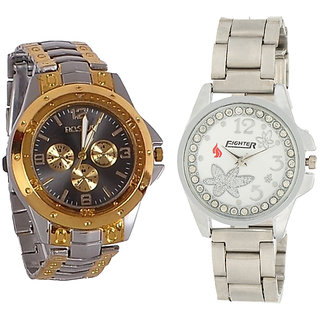 Fighter Analog Watch  for Couple811