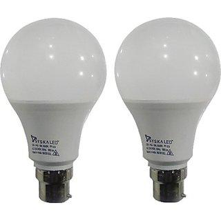 Syska 9 W White Led Bulb (Set Of 2)