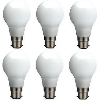 Syska Led Lights 5 W Led Bulb (White, Pack Of 6)