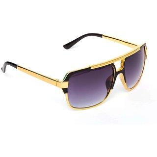 297100ecd47 Buy TheWhoop Premium Golden Frame Badshah Sunglass Online   ₹299 ...