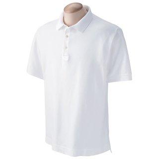 Make it Easy White Polo Tshirt