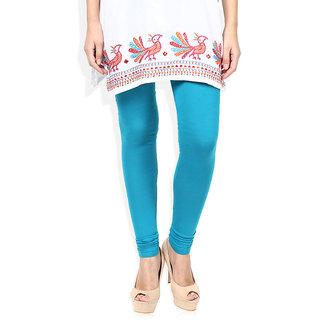 Caris Blue Cotton Leggings CCL001