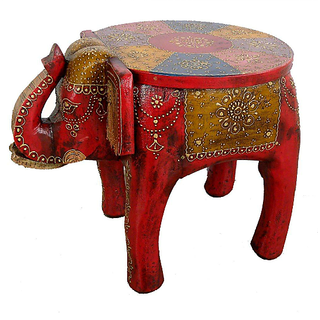 Buy Indian Handmade Painted Wooden Elephant For Home Decor Online 2428 From Shopclues