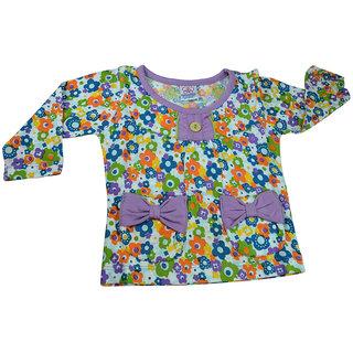 Mama  Bebes Infant Wear - Infant / Kids Full Seleeves Tshirts ,Purple mbgbl40ltpurple4-5