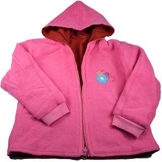 Mama  Bebes Infant Wear - Kids  Fleece Jacket,Pink mbgjk29pink1-2