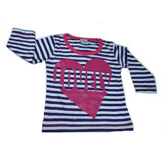 Mama  Bebes Infant Wear -  Kids Full Seleeves Tshirts ,Purple mbgmv64purple2-3