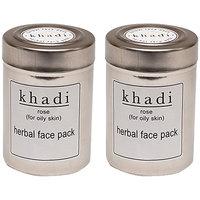 Kangra Valley Khadi Rose Face Pack (Pack Of 2)