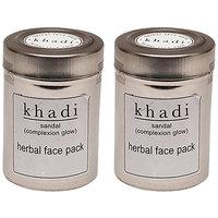 Kangra Valley Khadi Sandal Face Pack (Pack Of 2)