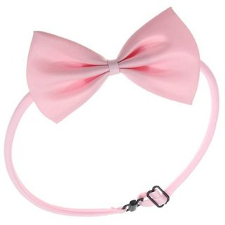 Futaba Fashion Dog Bowknot Tie - Light Pink