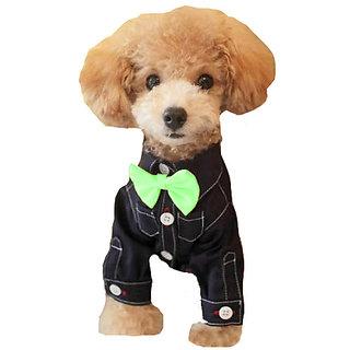 Futaba Fashion Dog Bowknot Tie - Green