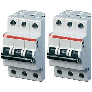 ABB SH C Type 6A 3pole MCB (2PC)