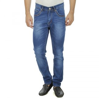 Aliens Valley Blue Slim Fit Jeans