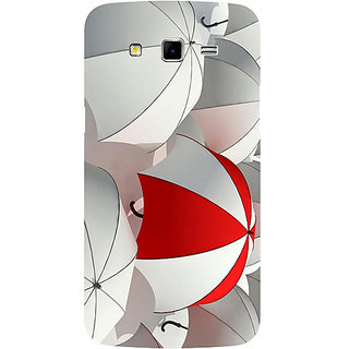 Casotec Umbrellas Design Hard Back Case Cover for Samsung Galaxy Grand 2 G7102 / G7105