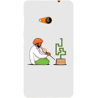 Casotec Charmer Design Hard Back Case Cover for Microsoft Lumia 535