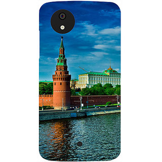 Casotec Kremlin Moscow Design Hard Back Case Cover for Micromax Canvas A1