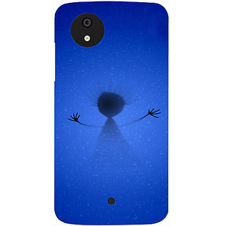 Casotec From The Deep Design Hard Back Case Cover for Micromax Canvas A1