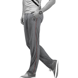 Macroman M-Series Grey Zip Lounger Trackpant For Men