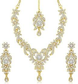 Zinc Jewel Set(Gold)