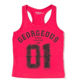 Doreme Georgeous Print Pink T-Top