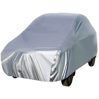 Ek Retail Shop White Car Body Cover For Chevrolet UVA